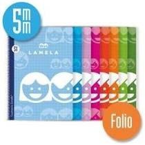BLOC LAMELA BASICO Fº 80H. C/5 MM.
