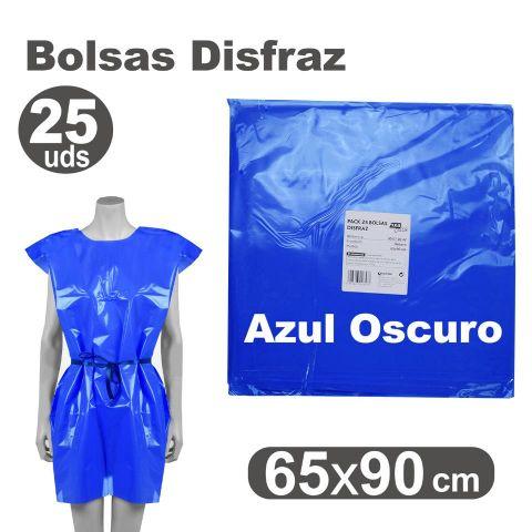 BOLSA DISFRAZ 65X90 AZUL OSCURO, PACK 25U.