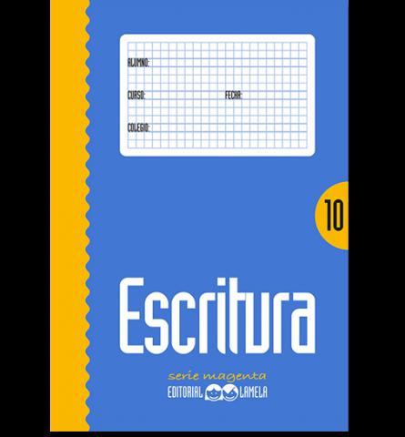 CARTILLA LAMELA Nº 10 ESCRITURA COLOR