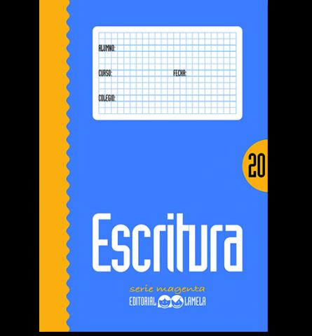 CARTILLA LAMELA Nº 20 ESCRITURA COLOR