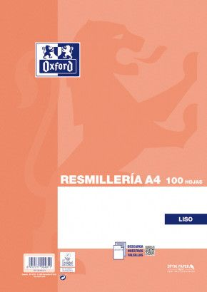 PAPEL A4 100H.90GR.LISO OXFORD
